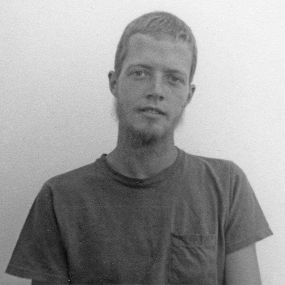 Dave Mahoney, Bloomington mugshots by Paul Dodd 1971