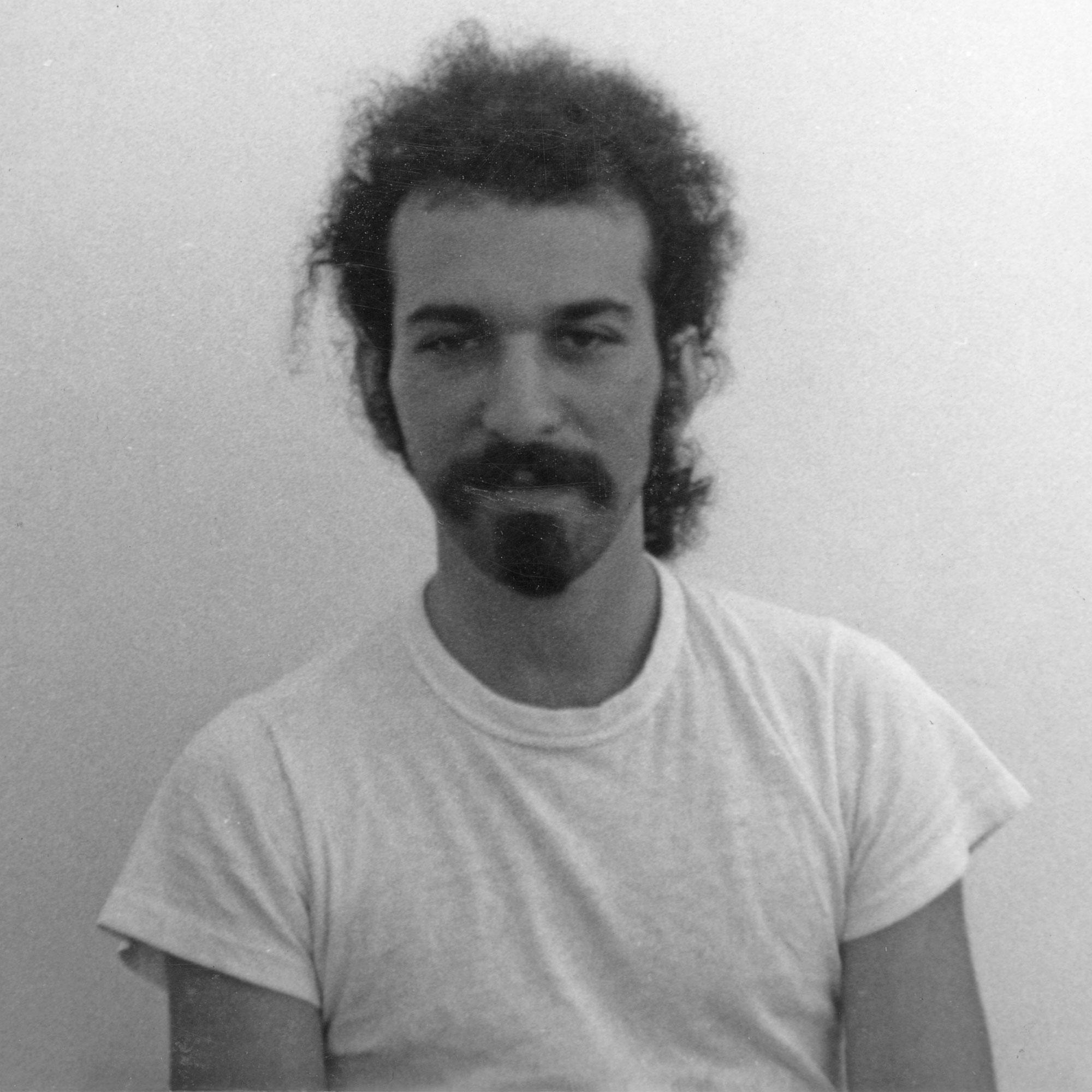 Jeff Reiter, Bloomington mugshots by Paul Dodd 1971