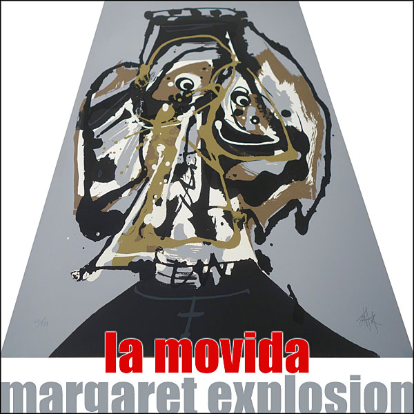 """La Movida"" by Margaret Explosion. Recorded live at the Little Theatre Café on 09.04.19. Peggi Fournier - sax, Ken Frank - bass, Phil Marshall - guitar, Paul Dodd - drums."