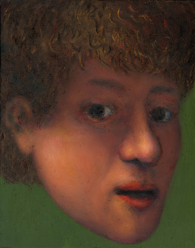 "Paul Dodd ""Artist Heads"" series 2000 - Rembrandt"