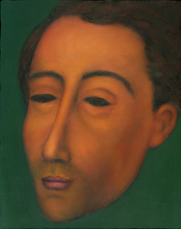 "Paul Dodd ""Artist Heads"" series 2000 - Modigliani"