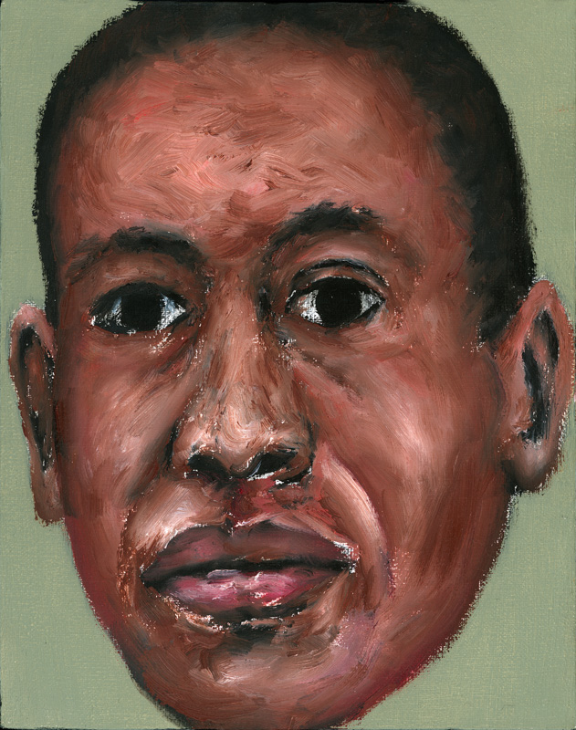 "Paul Dodd ""Artist Heads"" series 2000 - Pippen"