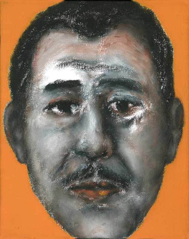 "Paul Dodd ""Artist Heads"" series 2000 - Kline"