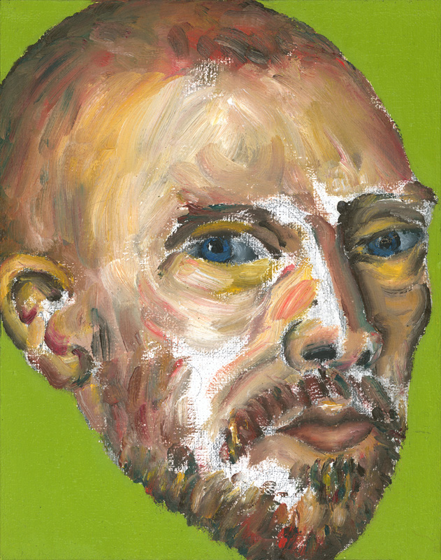 "Paul Dodd ""Artist Heads"" series 2000 - Van Gogh"
