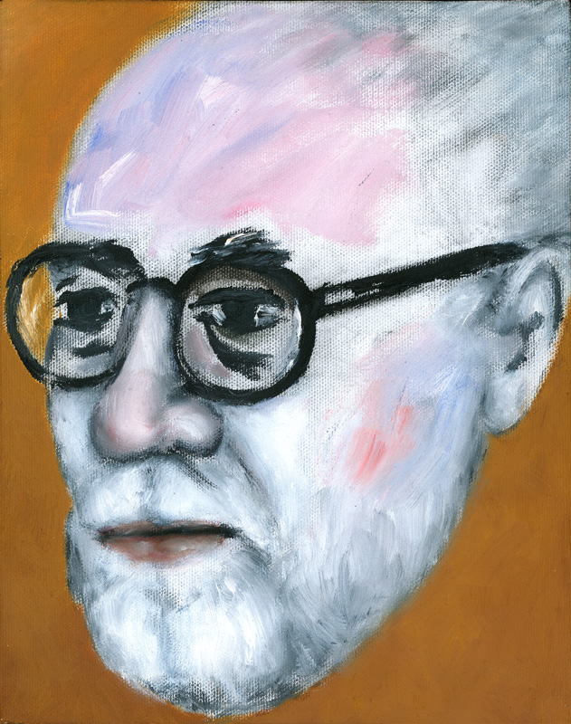 "Paul Dodd ""Artist Heads"" series 2000 - Matisse"