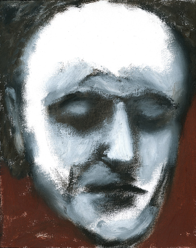 "Paul Dodd ""Artist Heads"" series 2000 - Rouault"