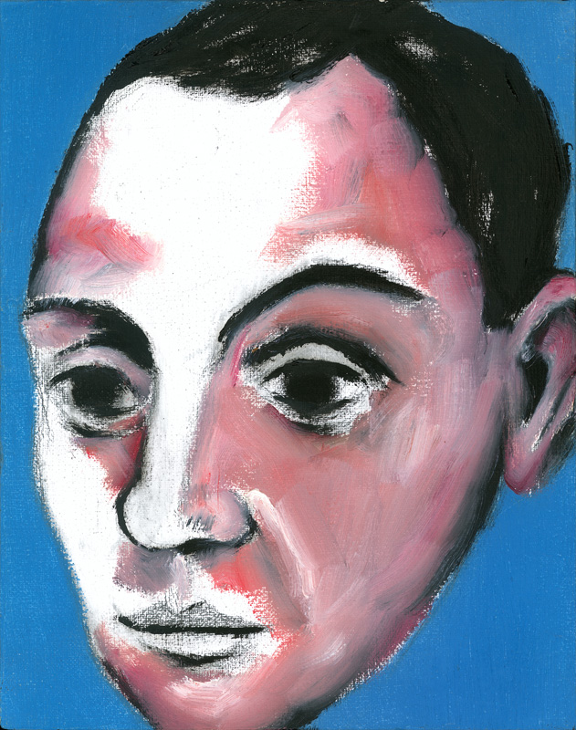 "Paul Dodd ""Artist Heads"" series 2000 - Picasso"