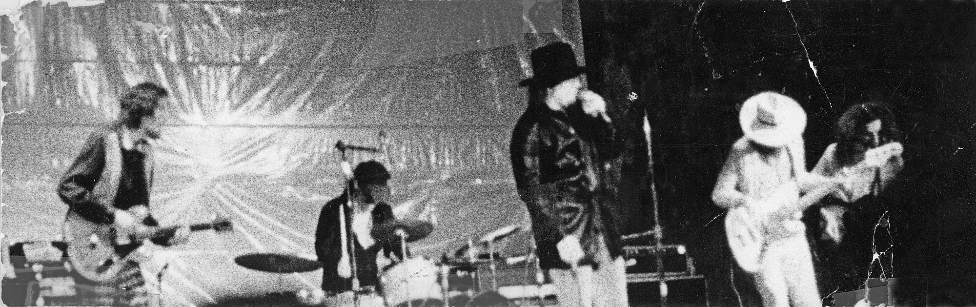 Kim Torgerson photo of Captain Beefheart and His Magic Band at Ludlow Garage in Cincinnati 1970