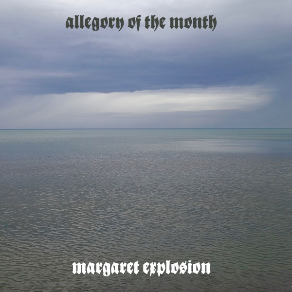 """Allegory of the Month"" by Margaret Explosion. Recorded live at the Little Theatre Café on 11.27.19. Peggi Fournier - sax, Ken Frank - bass, Pete LaBonne - piano, Phil Marshall - guitar, Paul Dodd - drums."