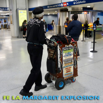 """""""Fe La"""" by Margaret Explosion. Recorded live at the Little Theatre Café on 11.20.19. Peggi Fournier - sax, Ken Frank - bass, Phil Marshall - guitar, Bob Martin - guitar, Paul Dodd - drums."""
