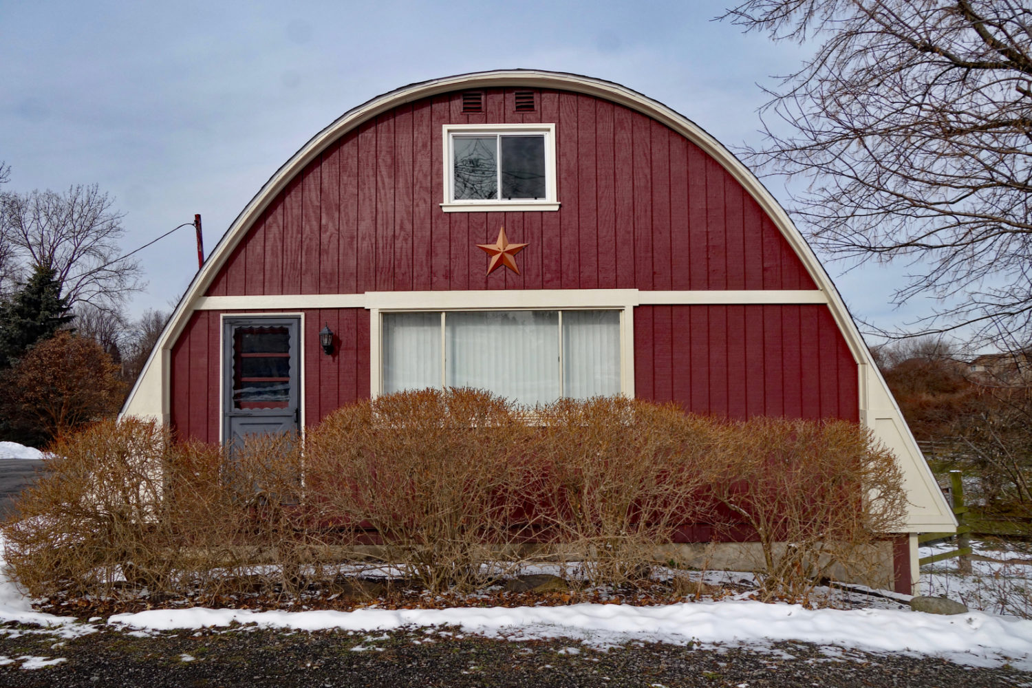 Quonset hut house on Titus Avenue Rochester, New York