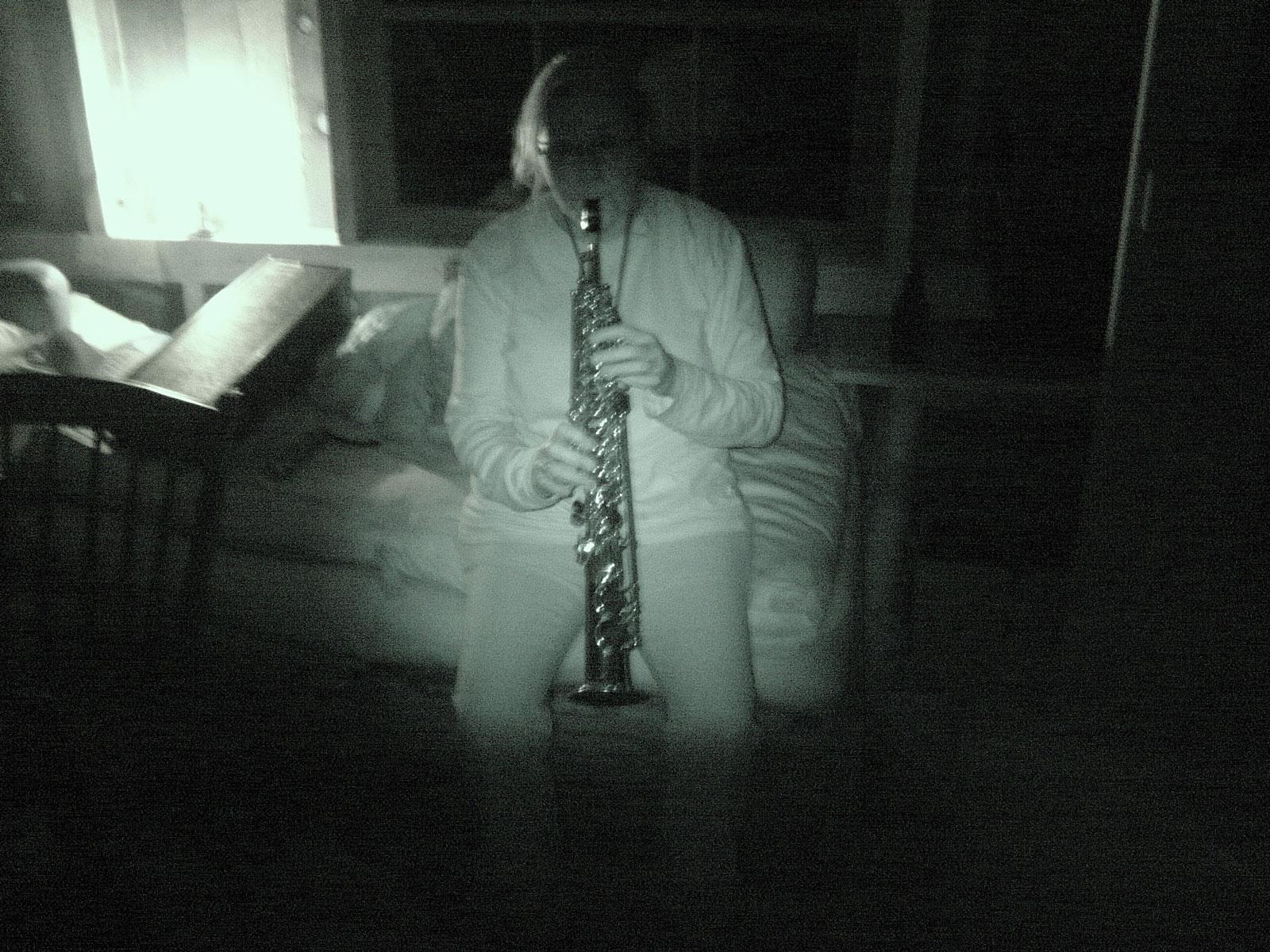 Marshing Band with Peggi on sax
