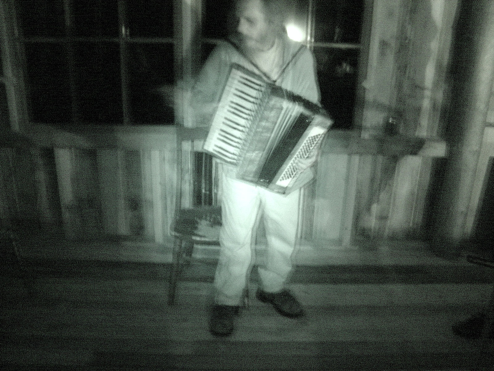 Marshing Band with Pete on accordion