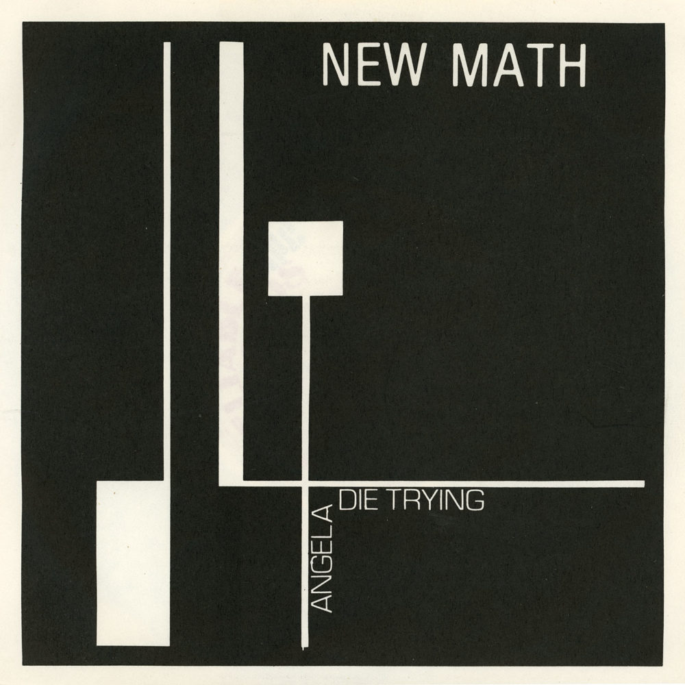 """New Math 45 coverer Reliable Records issue of New Math's """"Die Trying."""""""