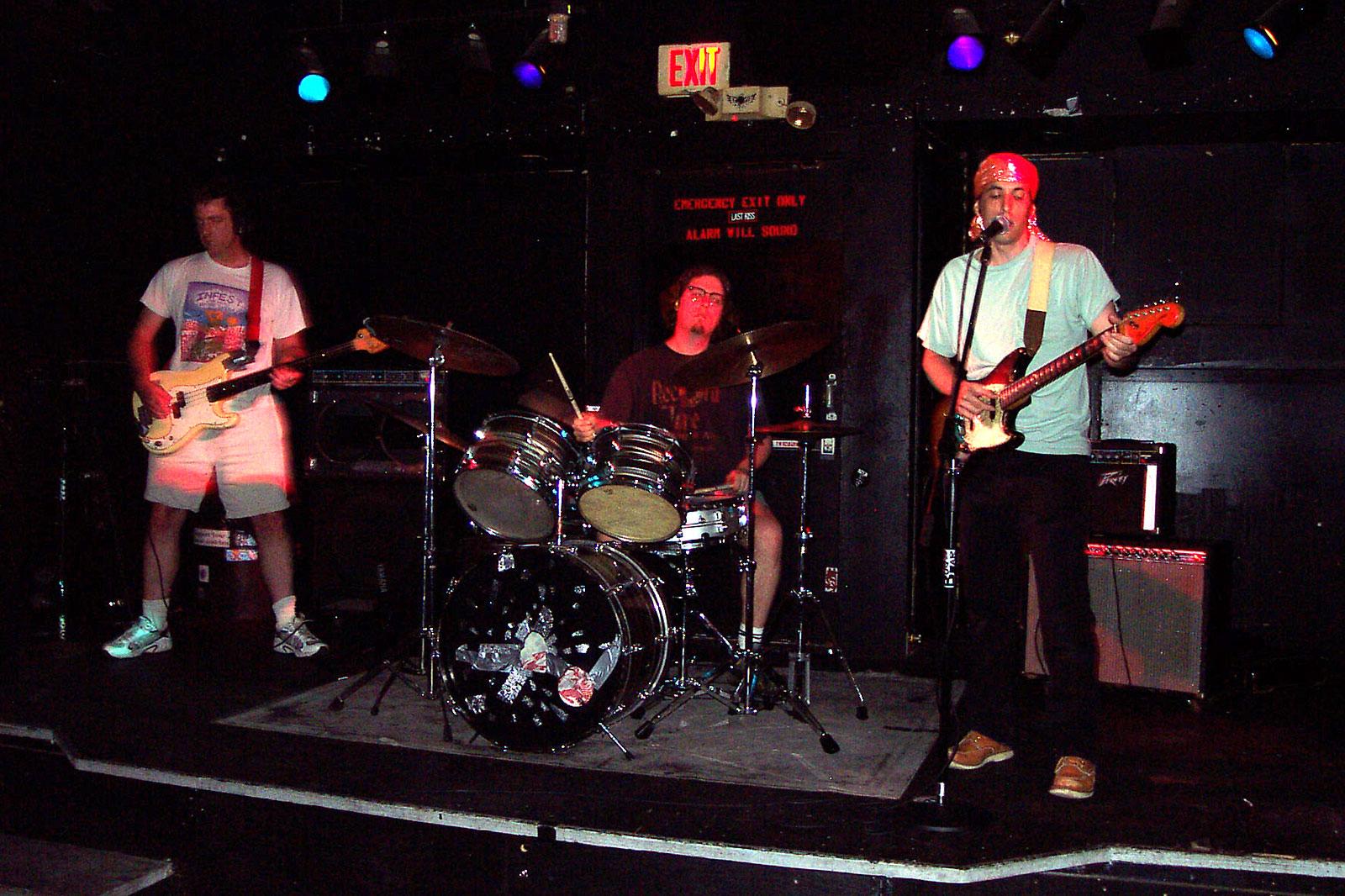 Nod performing at Bug Jar 2002