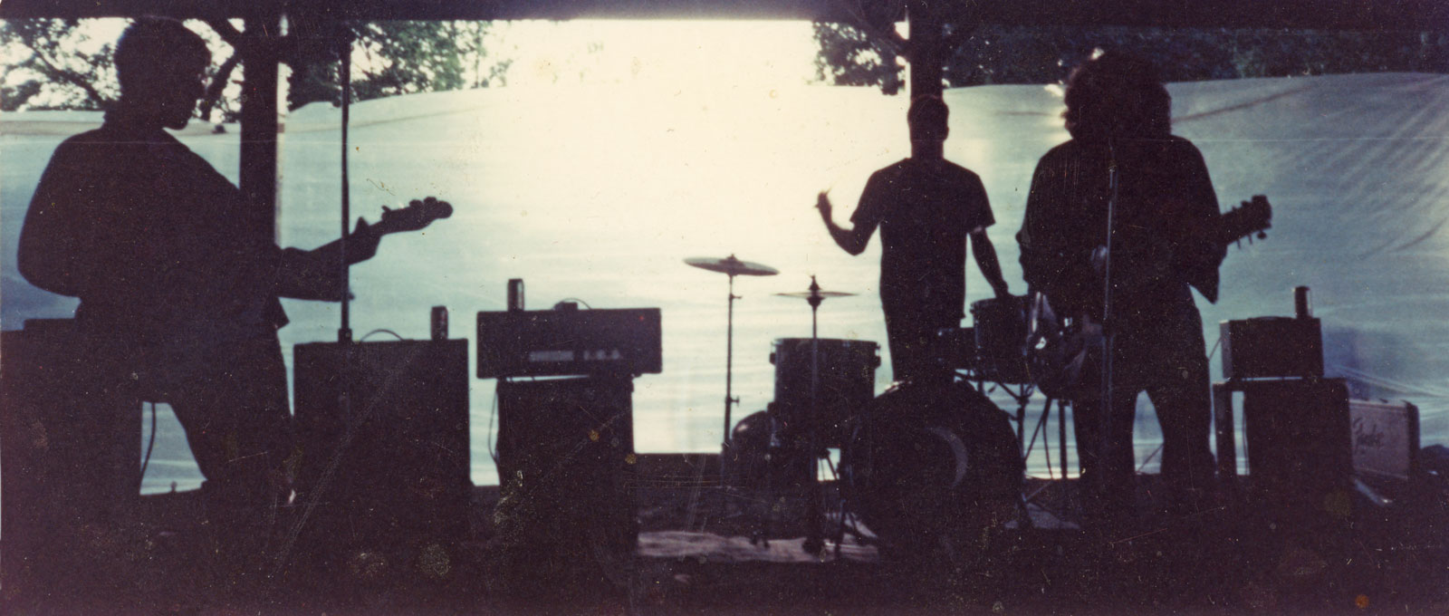 Petes Rock Band performing at Infest in Genesee Valley Park, Rochester NY 1992