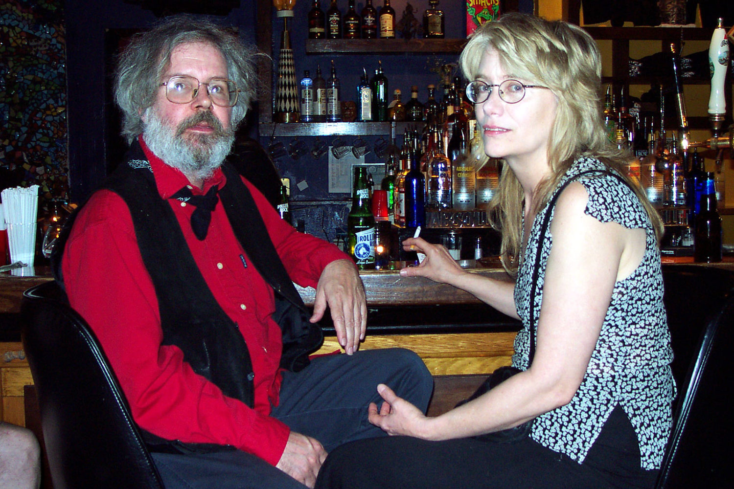 Ted and Janet Williams at the Bug Jar in 2002