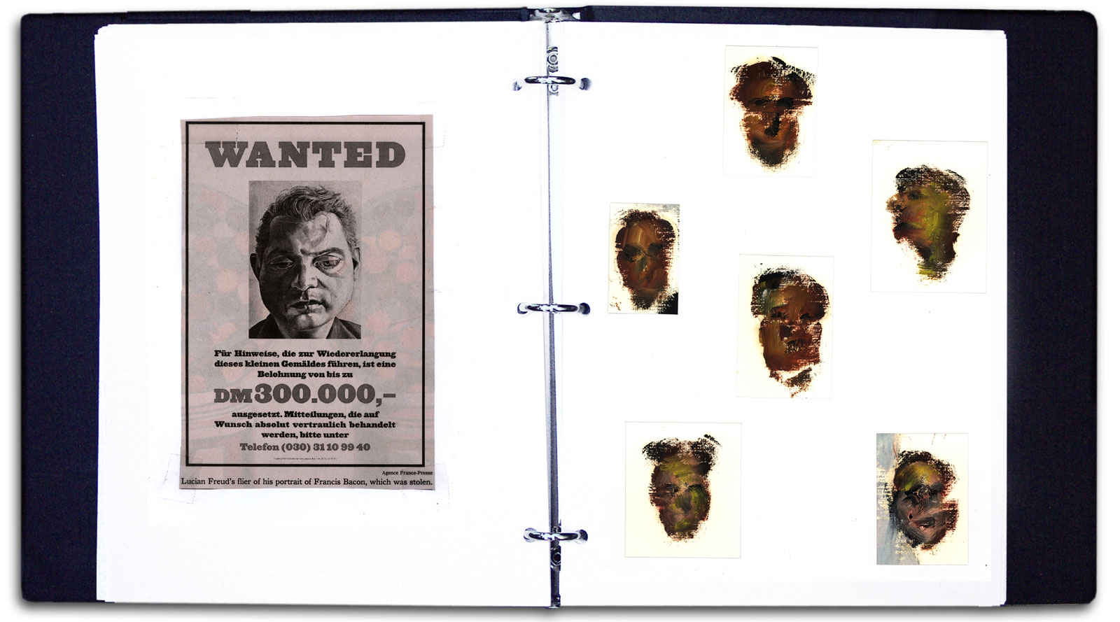 Sample spread from Paul Dodd notebook series, Brief History of the World.