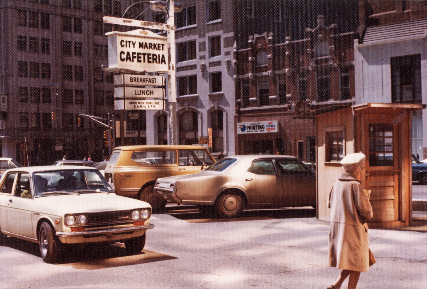 Downtown Indianapolis 1973