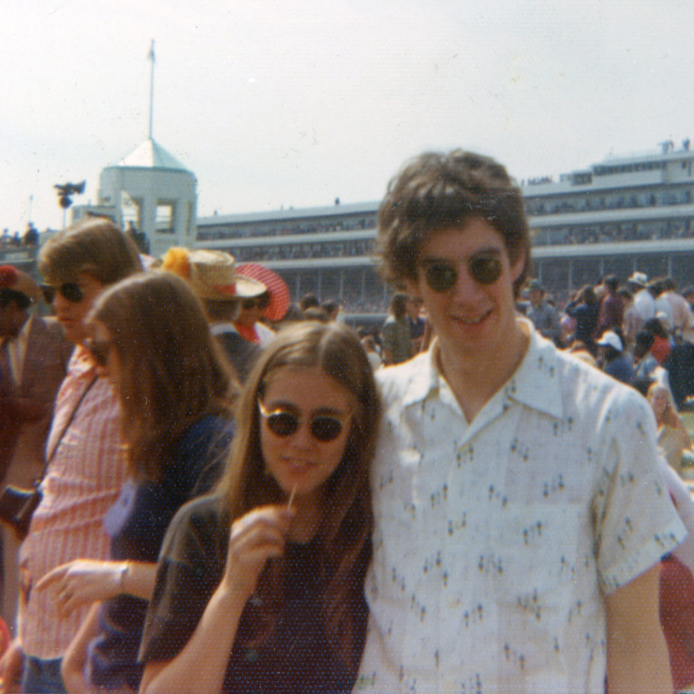 Peggi and Paul at the Kentucky Derby in 1973
