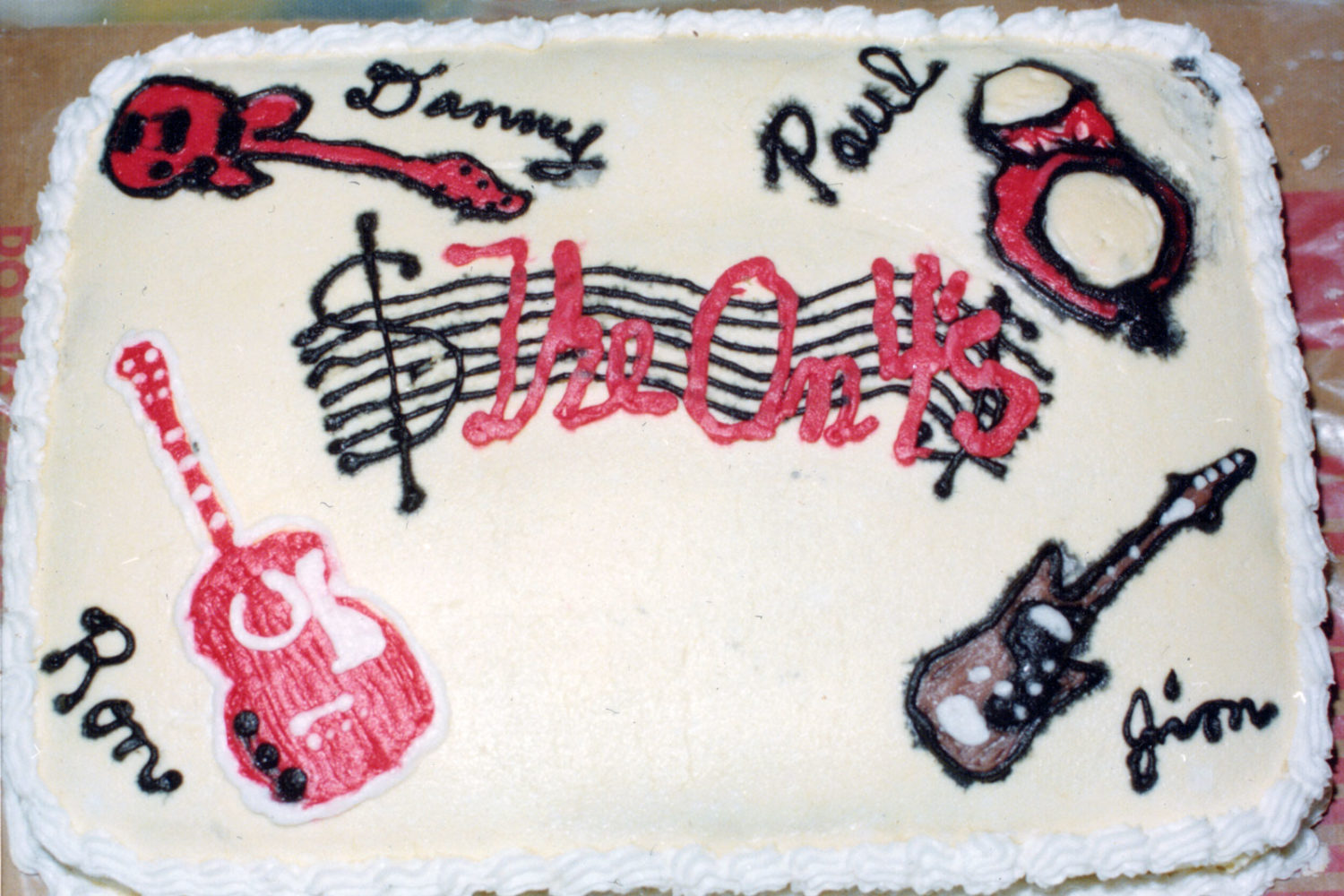 On Fours birthday cake