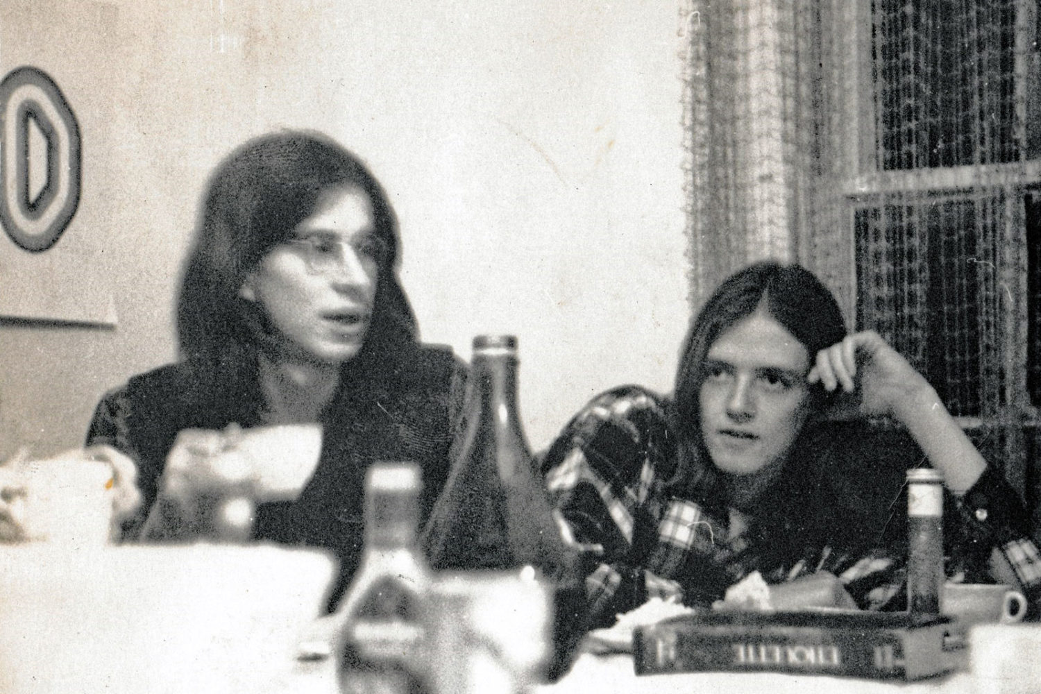 Paul Dodd and Dave Mahoney at Dave Jolly, Kenny Nacher and Rich Stim apartment 1969