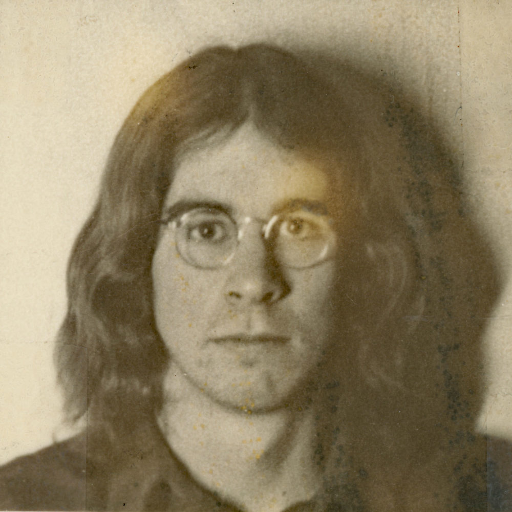 Paul passport photo 1971. I think Kim took this photo.