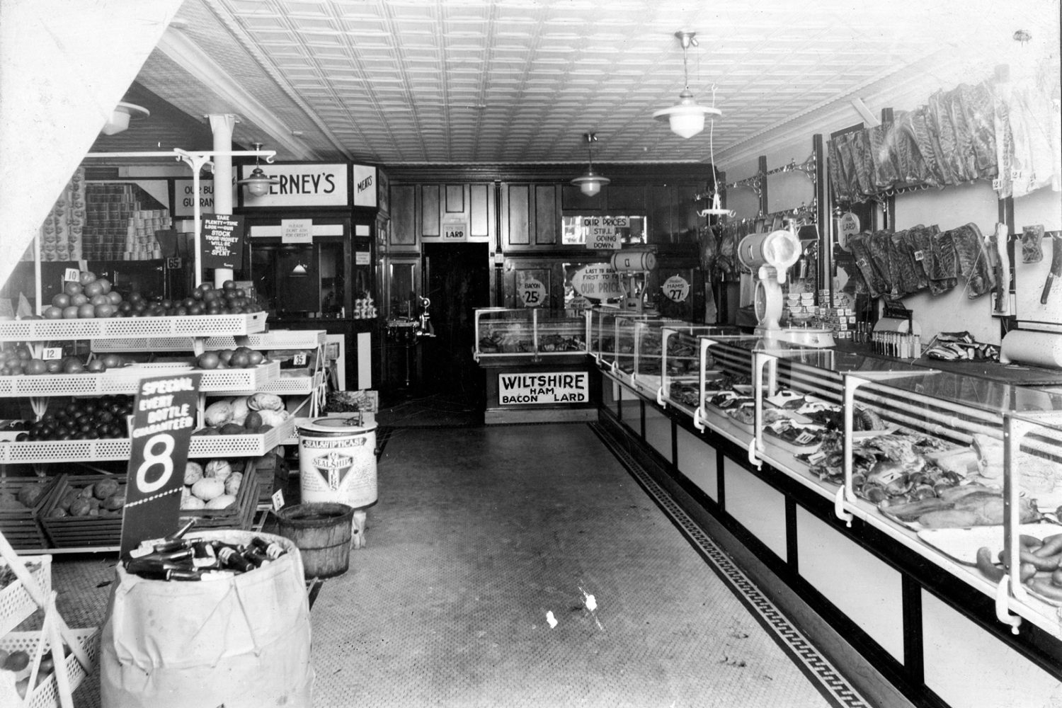 Tierney Market 312 North Street in Rochester, New York 1930