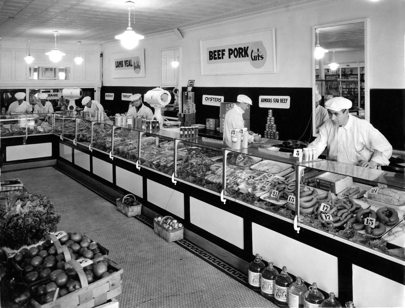 Tierney Market 312 North Street Rochester 1935