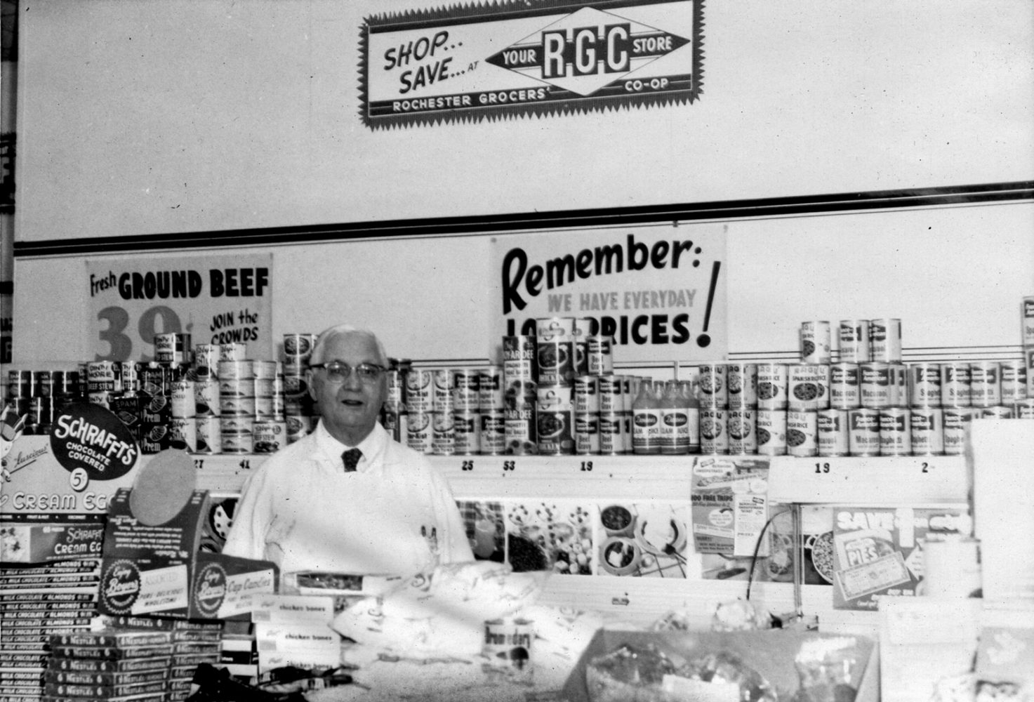 Ray Tierney inside Tierney Market 999 South Clinton Rochester, New York