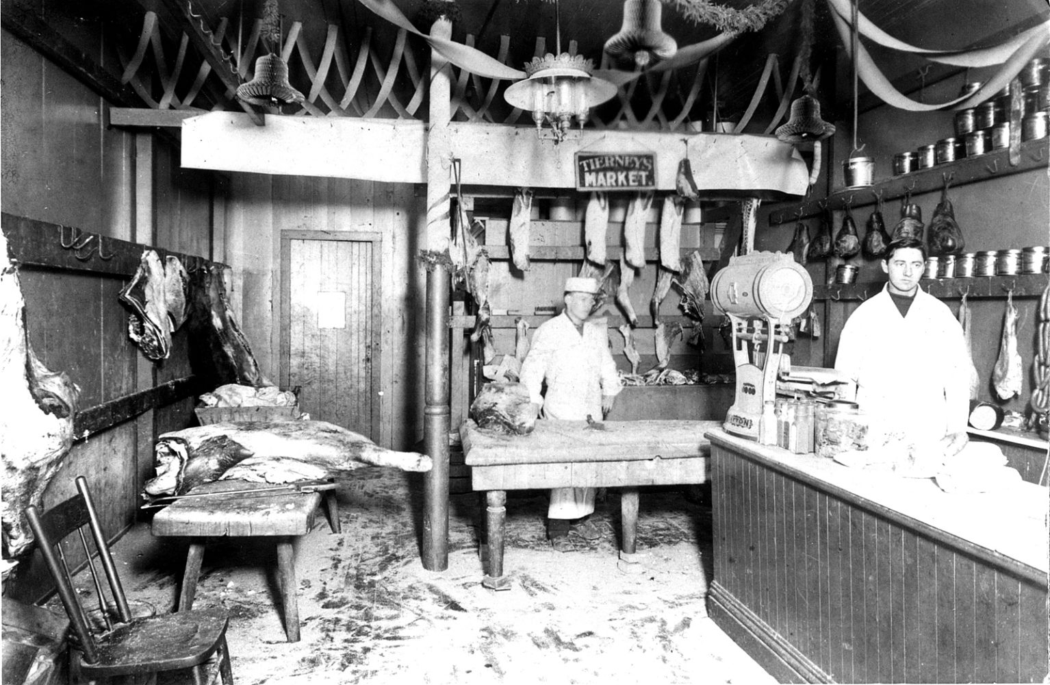 Tierney Market with Raymond Tierney on the right 1906