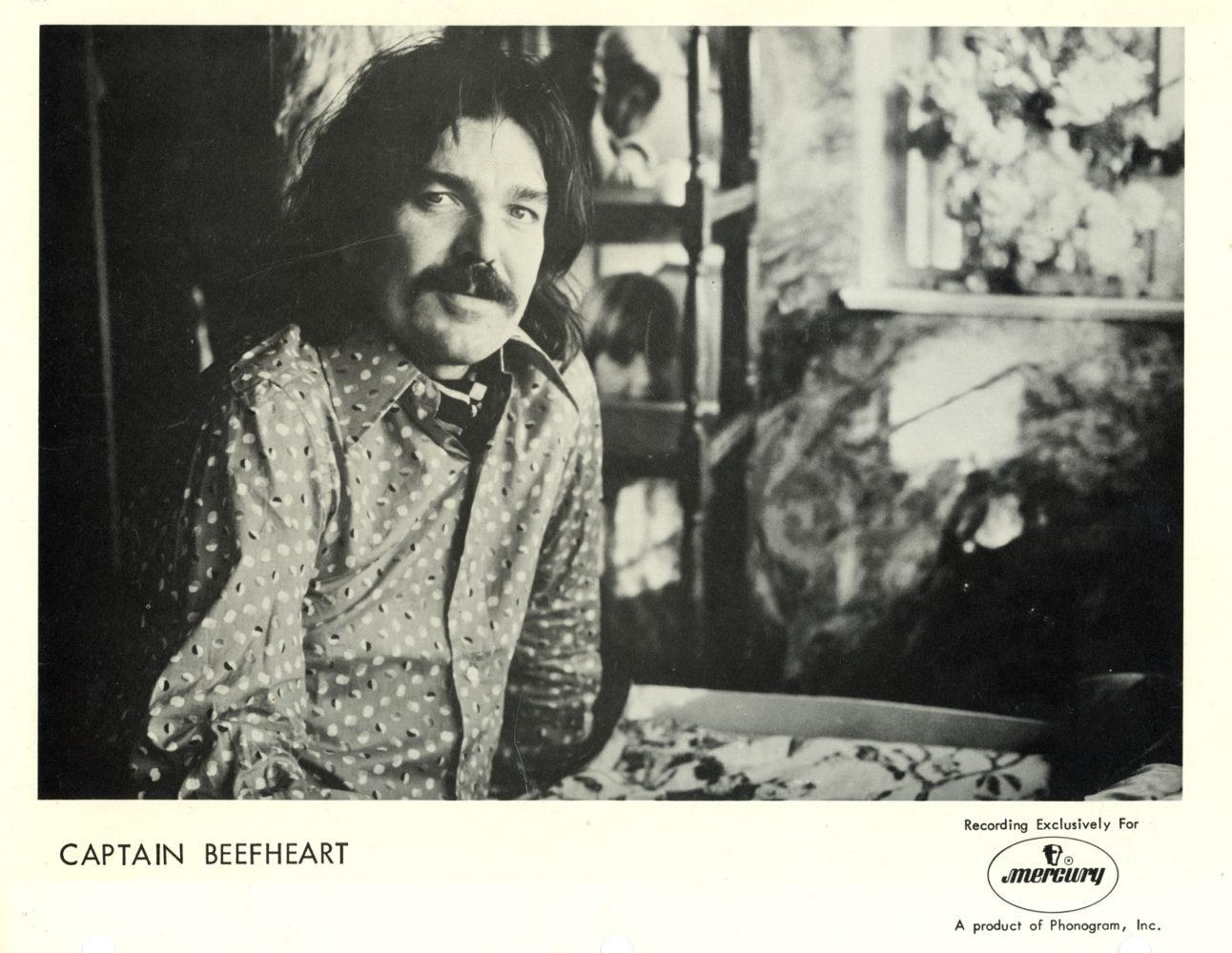 Captain Beefheart Promo Photo Mercury Records