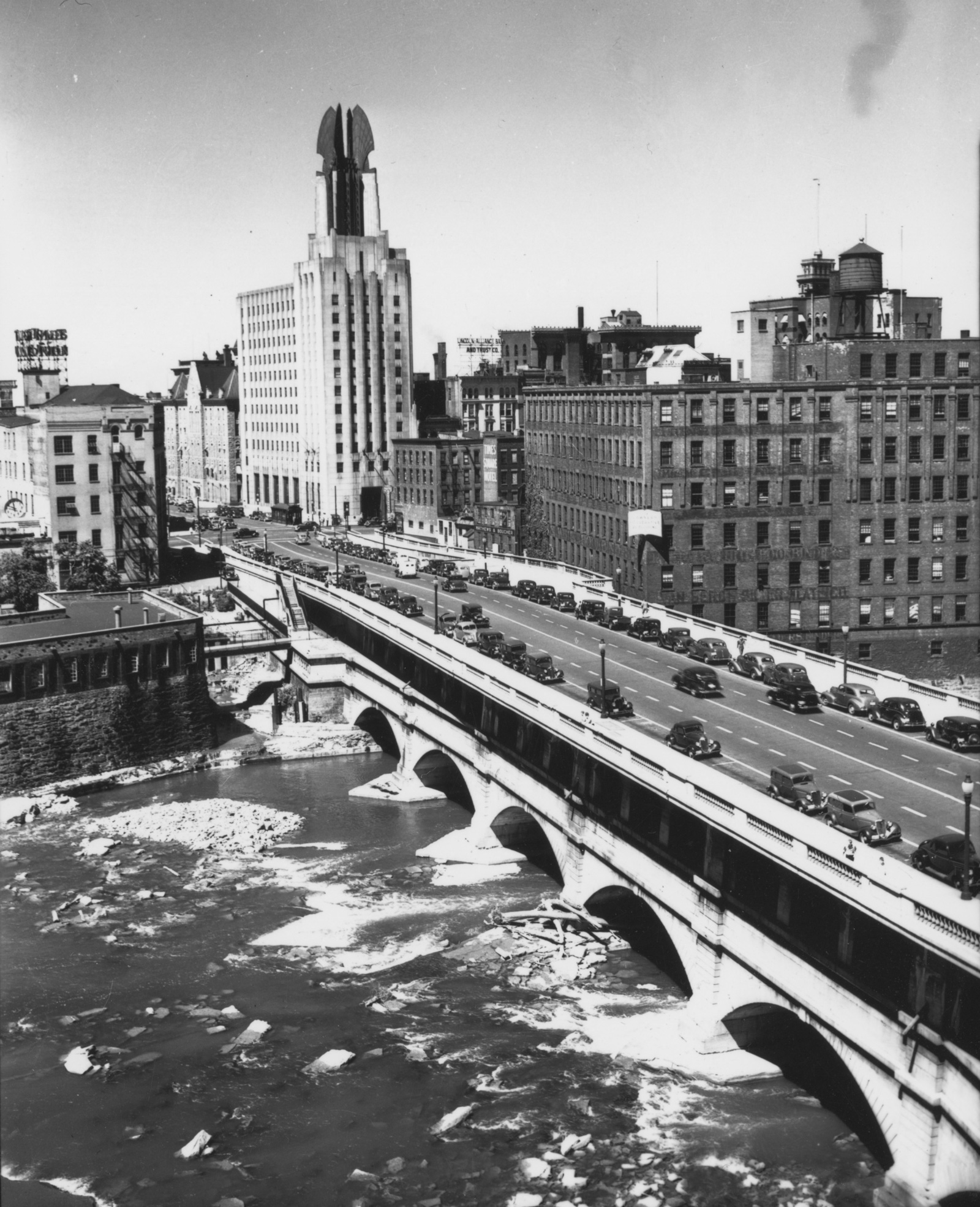 Broad Street Bridge - photo from City of Rochester