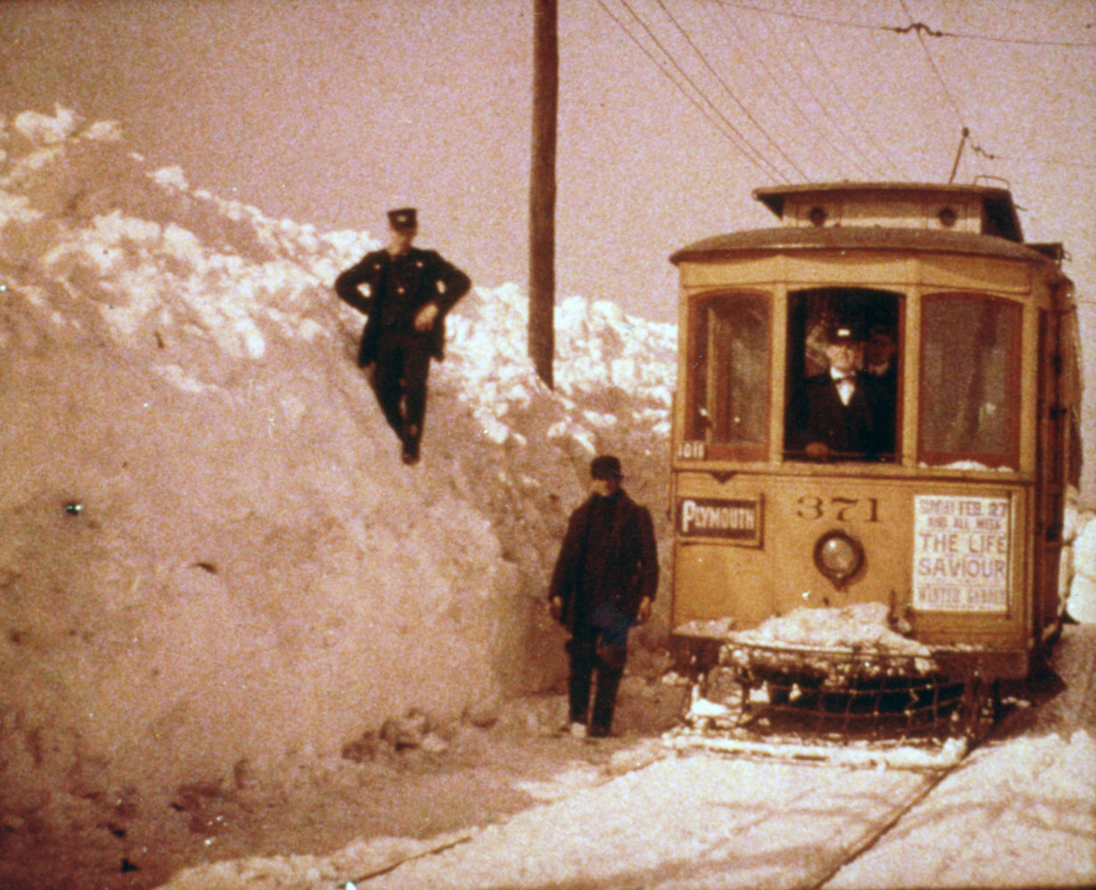 Plymouth Avenue street car - photo from City of Rochester