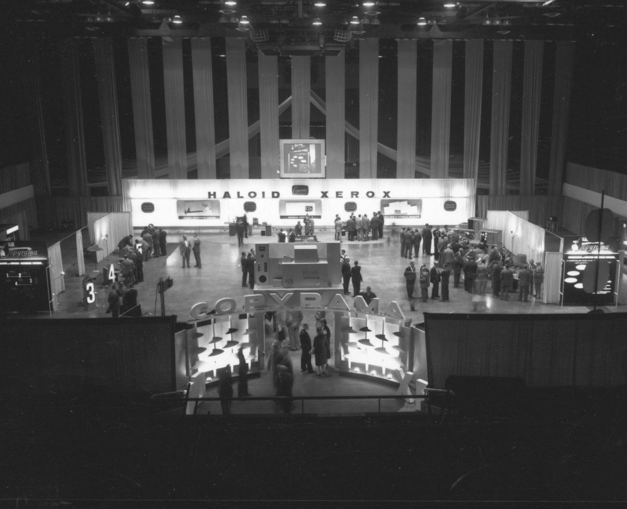 Haloid Xerox trade show in Rochester, New York - photo by Paul Dodd 1976