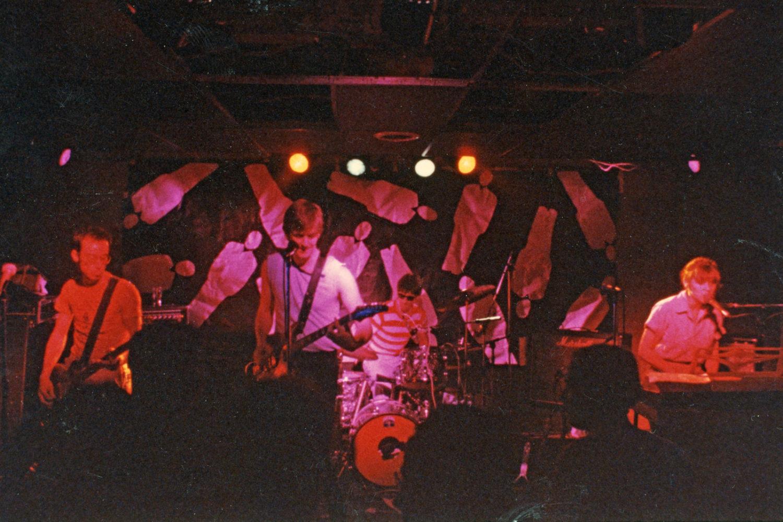 Hi-Techs performing at Scorgies in Rochester, New York