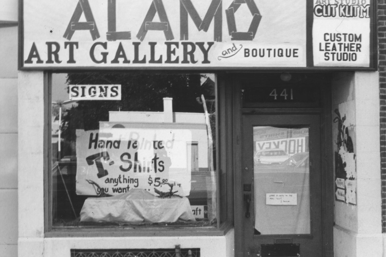 Alamo Art Gallery on Monroe Avenue in Rochester, New York - photo by Paul Dodd