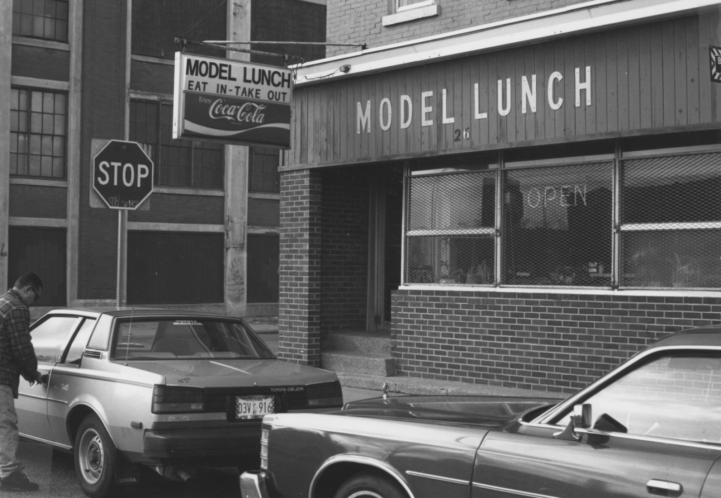 Model Lunch Diner in Rochester, New York- photo by Paul Dodd 1976