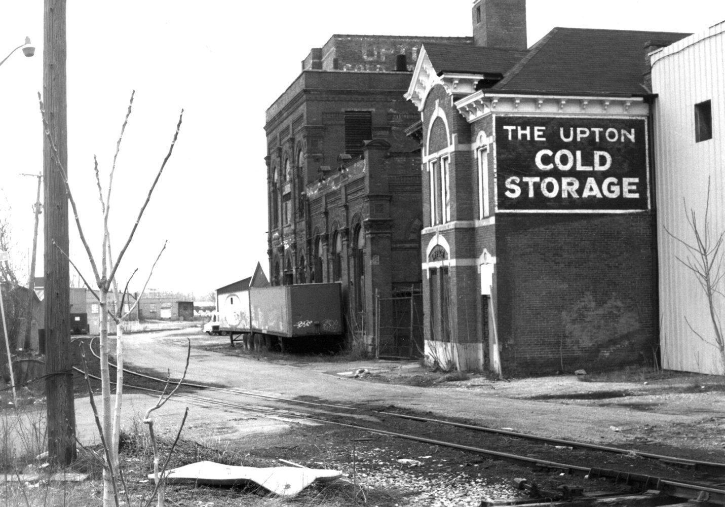 Upton Cold Storage 38 Cliff Street - Paul Dodd photo 1976