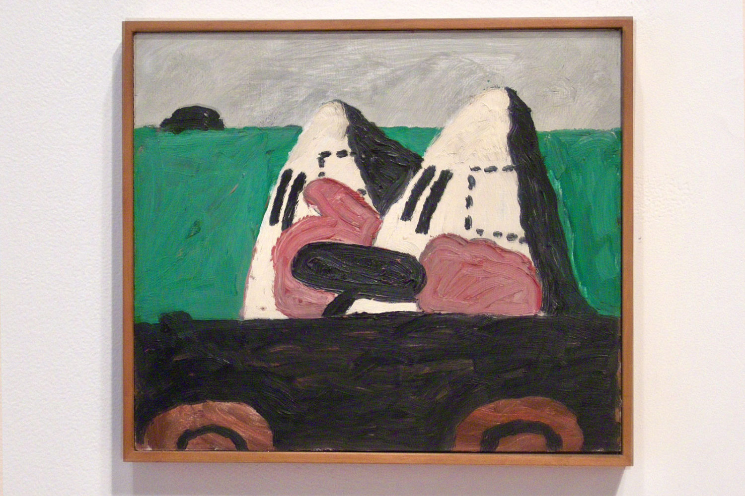 From Philip Guston Small Panels show at McKee Gallery,  NYC 2009
