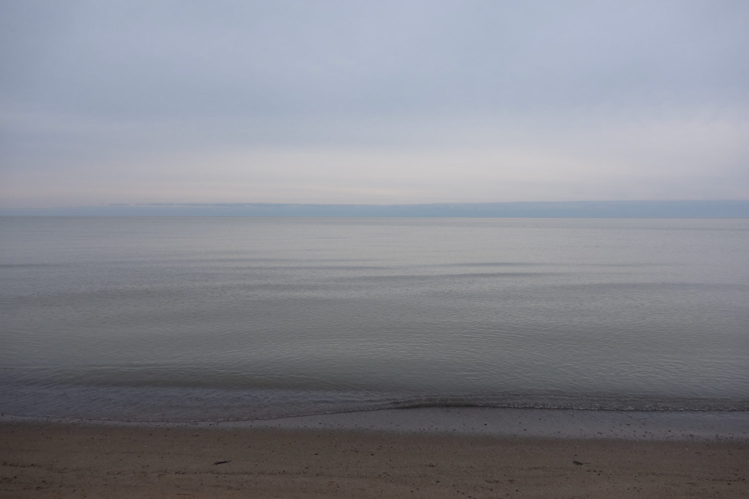 Lake Ontario on New Year's Day 2021