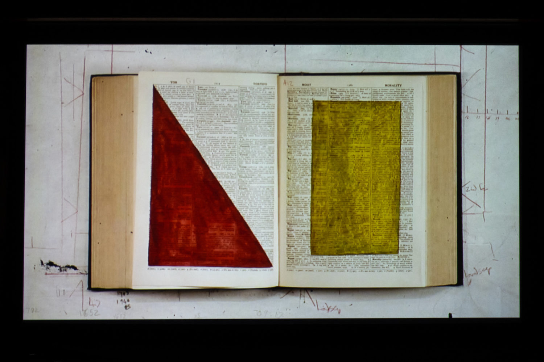 William Kentridge still from Second Hand Reading