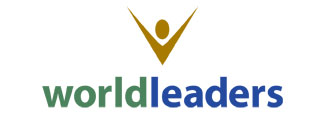 World Leaders logo by Paul Dodd at 4D Advertising in Rochester, New York