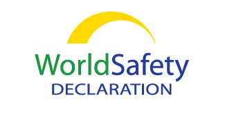 World Safety Declaration logo by Paul Dodd at 4D Advertising in Rochester, New York
