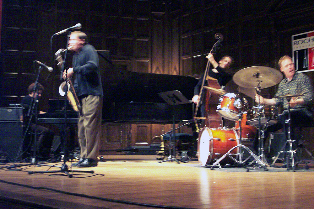 Chris Potter performing at the 2003 Rochester International Jazz Festival