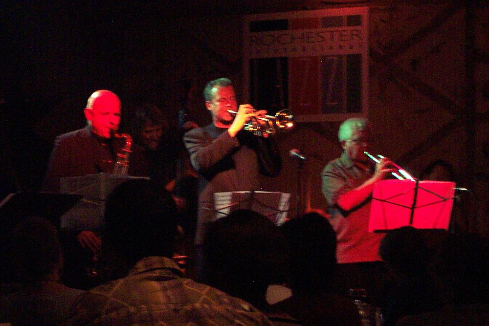 The European Jazz Ensemble performing at the 2002 Rochester International Jazz Festival