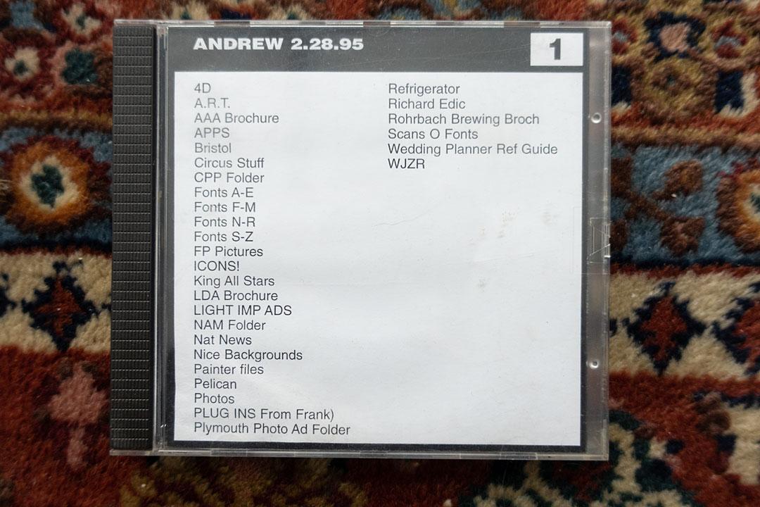 First 4D CD 1995