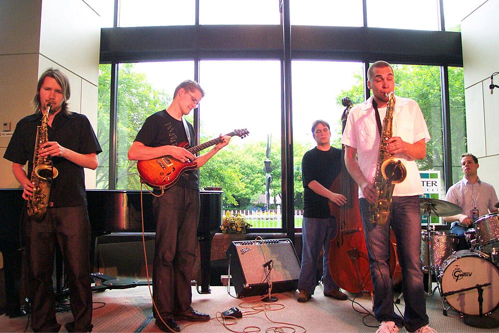 U Street All Stars performing at the 2003 Rochester International Jazz Festival