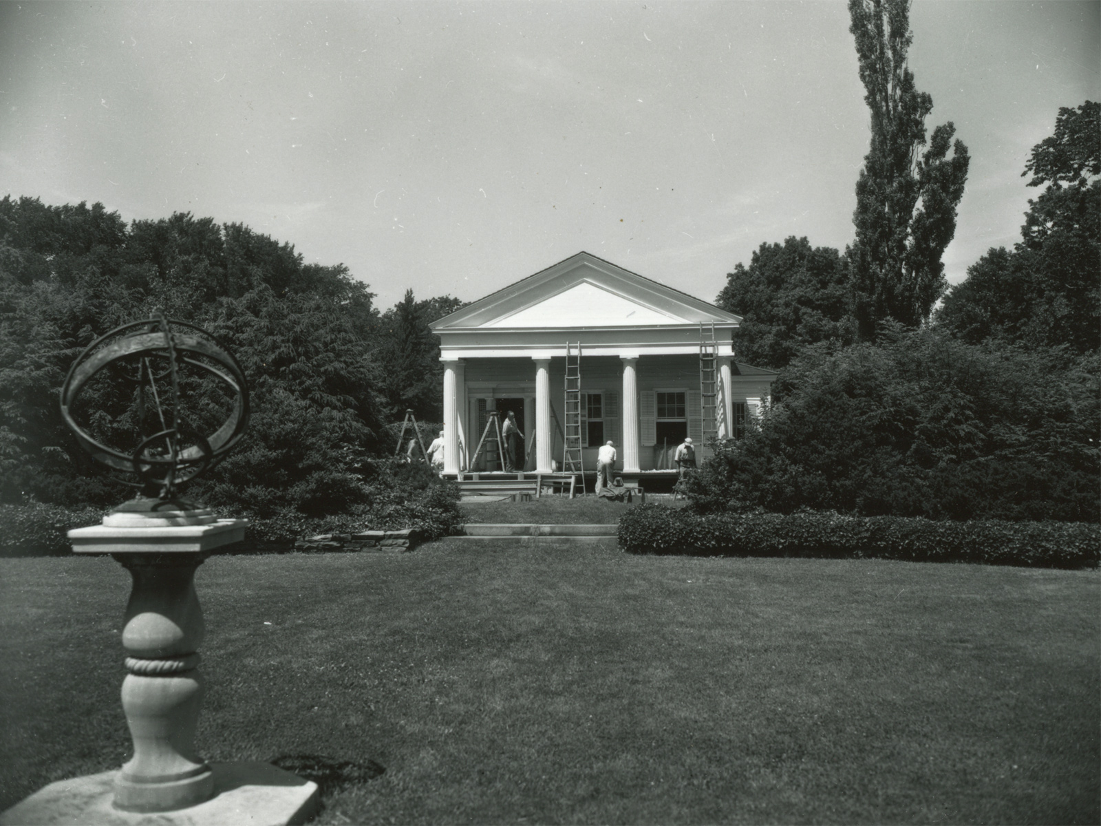 George Eastman's old home 1954 – photo from City of Rochester