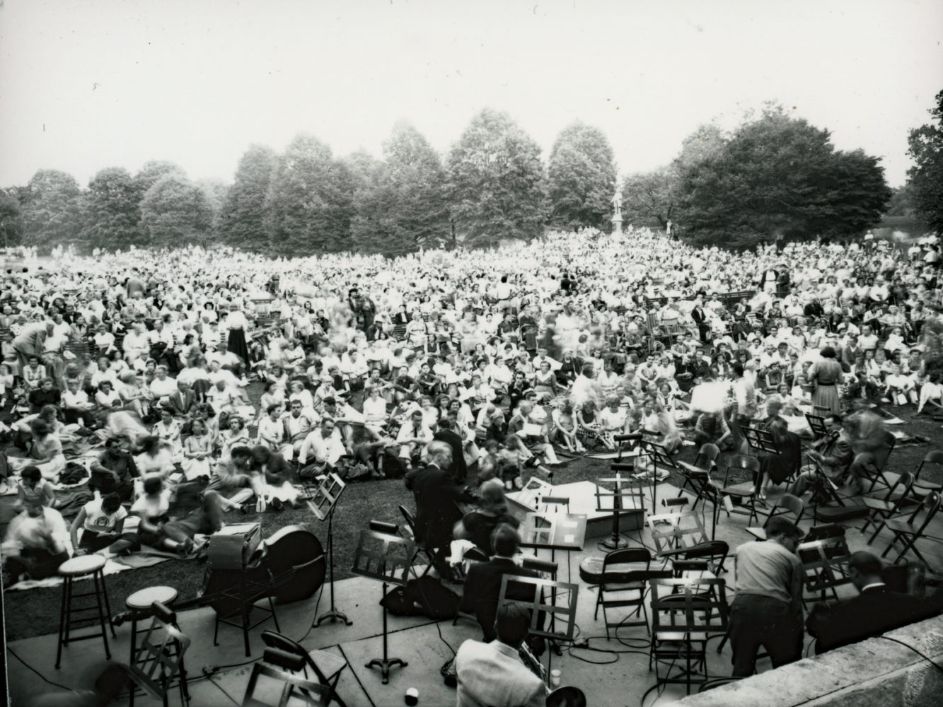 Opera in Highland Park on August 12, 1953 – photo from City of Rochester